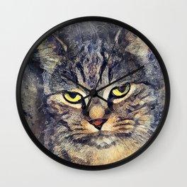 Cat Alex #cat #cats #kitty Wall Clock