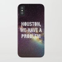houston iPhone & iPod Cases featuring Houston by Text Guy