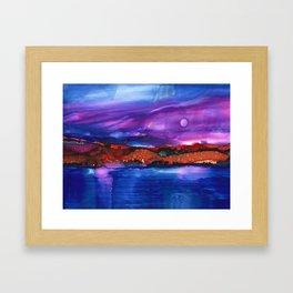 Evening #11 Framed Art Print