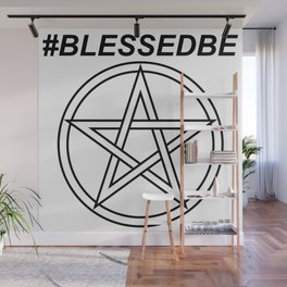#BLESSEDBE INVERSE Wall Mural
