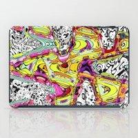 rush iPad Cases featuring Rush by Ingrid Padilla