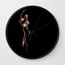 Fire Women Wall Clock