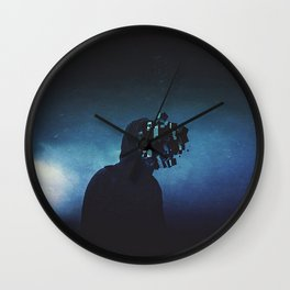 Square Minded Wall Clock
