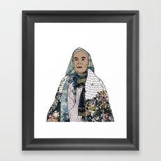 No Ban No Wall | Art Series - The Jewish Diaspora 008 Framed Art Print