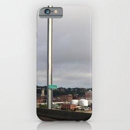 Dubuque From The Bridge iPhone Case