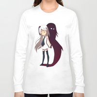 shadow Long Sleeve T-shirts featuring Shadow by Freeminds