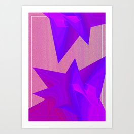 Near Collision Art Print
