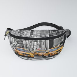 NYC - Yellow Cabs - Police Car Fanny Pack