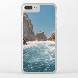 Cabo San Lucas VIII Clear iPhone Case