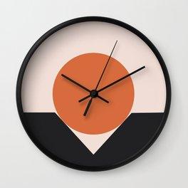 Sunset Golfing Wall Clock