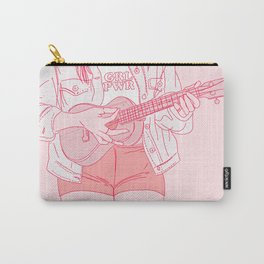 ukulele player Carry-All Pouch