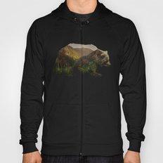 North American Brown Bear Hoody
