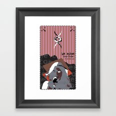 COME CLOSER Framed Art Print