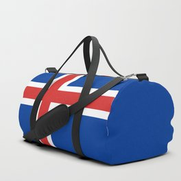 National flag of Iceland Duffle Bag