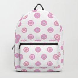 Gamer Girl - Pastel Controller Buttons Backpack