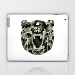 Fractured Geometric Bear Laptop & iPad Skin