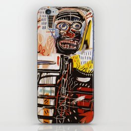 A vectorised Basquiat iPhone Skin