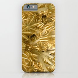 Grasping (in gold) iPhone Case