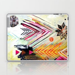 """True North"" Original Painting by Flora Bowley Laptop & iPad Skin"