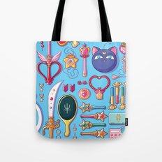Magical Arsenal Blue Tote Bag