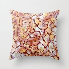 Nature brown Throw Pillow