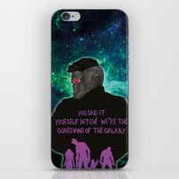 starlord iPhone & iPod Skins featuring Starlord by Dgrafiks