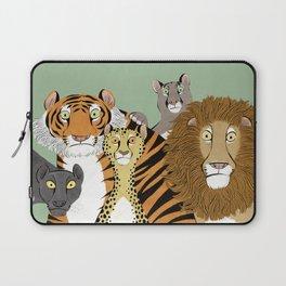 Surprised Big Cats Laptop Sleeve