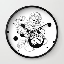 FREEHAND 004 Wall Clock