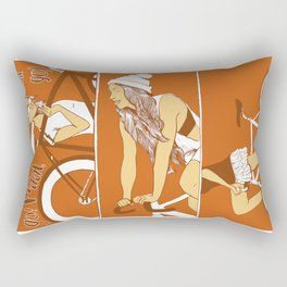 now they are hot deadly girls Rectangular Pillow