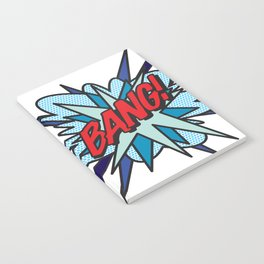 Comic Book Pop Art BANG Notebook