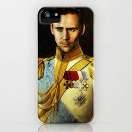 Tom Hiddleston 001 iPhone Case