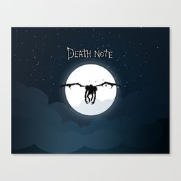 The god of death Canvas Print
