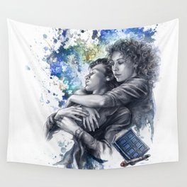Time and Space Wall Tapestry