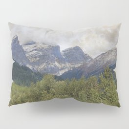 The Three Sisters - Canadian Rockies Pillow Sham