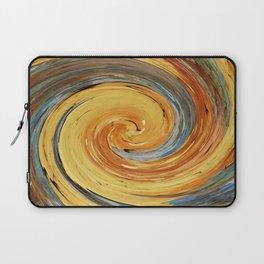 Swirl 03 - Colors of Rust / RostArt Laptop Sleeve