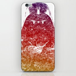 Darth Vader Text Portrait iPhone Skin