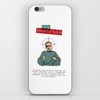 godfather iPhone & iPod Skins featuring The godfather by Marta Colomer