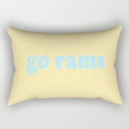 go rams Rectangular Pillow