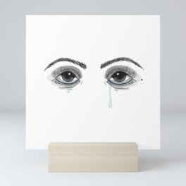 Pretty Cryer Mini Art Print