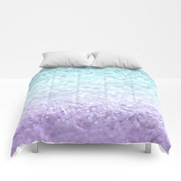 MERMAIDIANS AQUA PURPLE Comforters