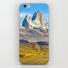 Snowy Andes Mountains, El Chalten, Argentina iPhone Skin