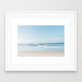 California Surfing Framed Art Print