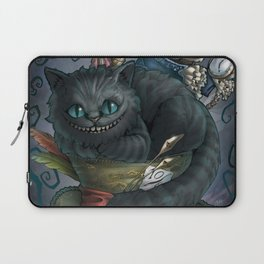 The Cheshire Cat and his friends Laptop Sleeve