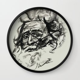 Hemingwayesque  Wall Clock