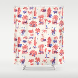 Where they Belong - Bright Colors Shower Curtain