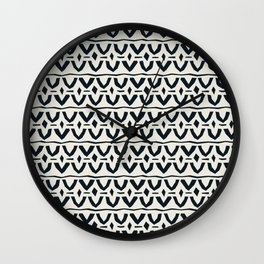 Black and white love Wall Clock