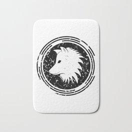 Wolf design Bath Mat