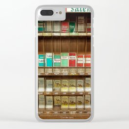 Smokes - Color Clear iPhone Case