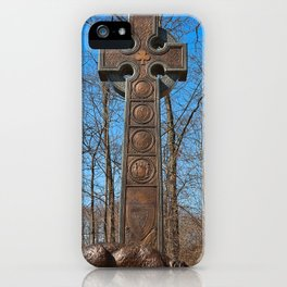 Irish Brigade Monument iPhone Case