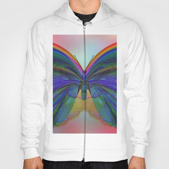 Rainbow Butterfly 2 Hoody
